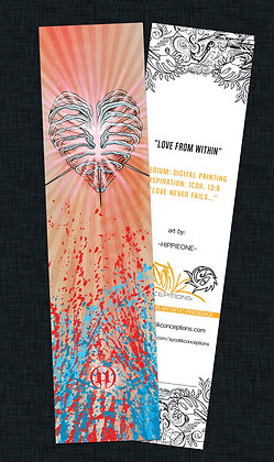 LOVE FROM WITHIN BOOKMARK  #031