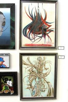 Artwork Displayed at GCS Santa Ana
