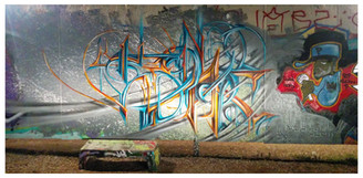Freestyle Painting Session at Writerz Blok  San Diego, CA