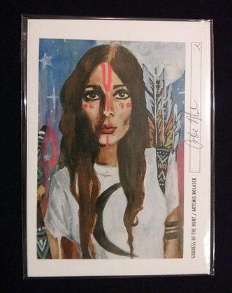 Goddess of the Hunt Print  #011
