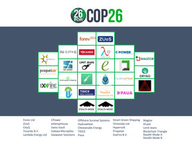 Seawater Solutions Selected for Greenbackers 26ForCOP26 SuperPitch Program!