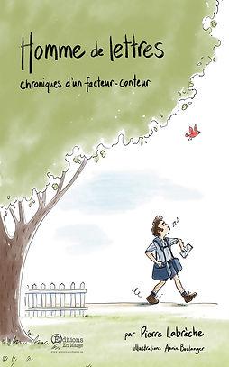 couverture Homme de lettres Chroniques d
