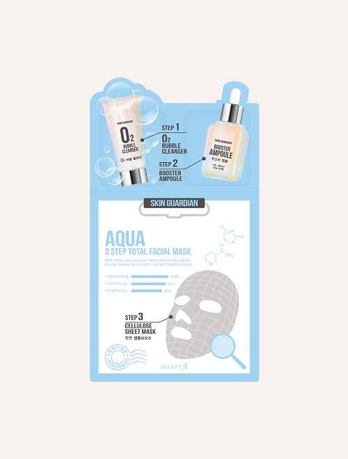 Aqua 3step Total Facial Mask