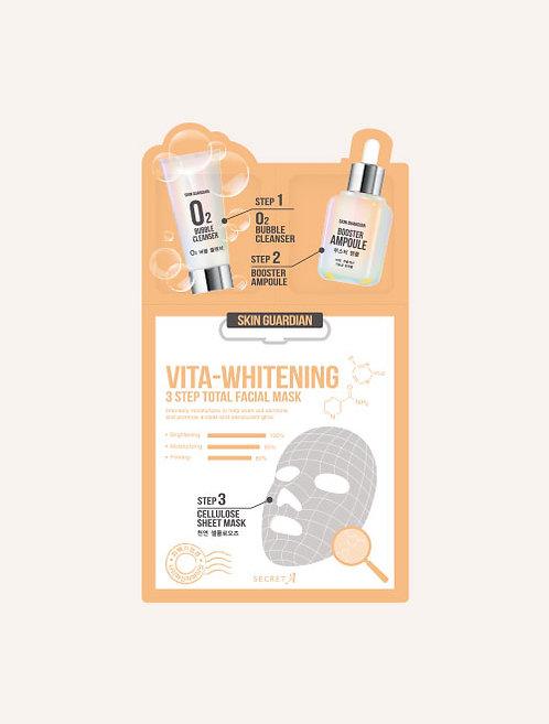 Vita-Whitening 3step Total Facial Mask