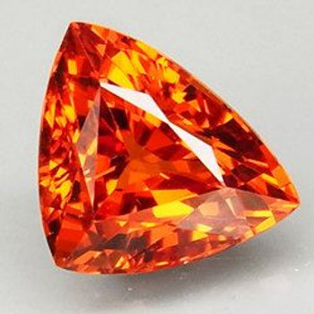 Natural 1.65 ct Spessartite Garnet Flawless