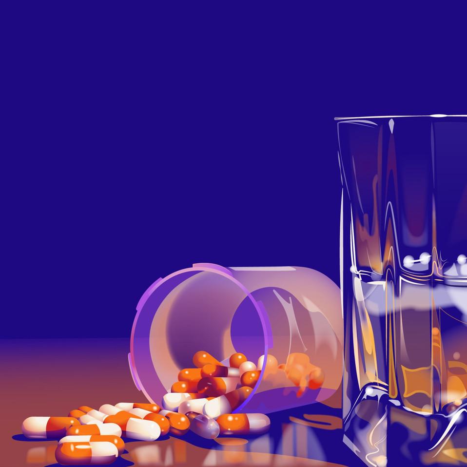 Antidepressants Illustration