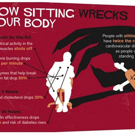 """Doctors' warning: """"sitting is the new smoking"""""""