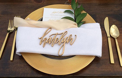 Dinner Place Card/Name