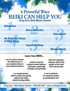 Flyer - Reiki Services