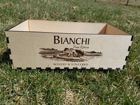 Wine Box for Wedding Centerpiece