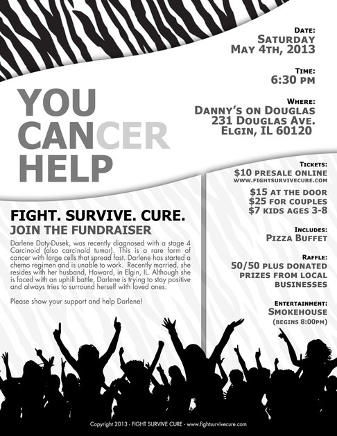 Flyer - Cancer Charity