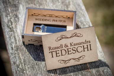 Wedding Photo Keepsake Box
