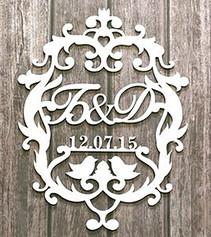 Wedding Monogram Sign