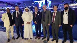 حضور كبير لعدد من السفراء والدبلوماسيين لمنافسات اليوم الختامي من البطولة