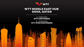 """الدوحة تستضيف أول بطولات ال """"WTT"""" للطاولة"""