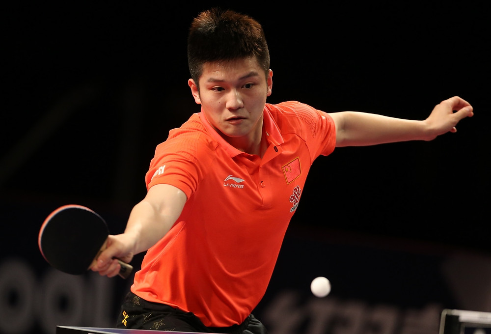 Fan Zhendong reserves his spot in the Men's Singles final (Photo: Hussein Sayed)