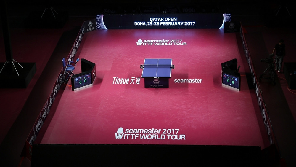 The Seamaster 2017 ITTF World Tour set for a dramatic finale in Doha (Photo: Hussein Sayed)