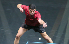 Qatar's challenge at the World Table Tennis (WTT) Contender qualifying rounds of WTT Middle East Hub