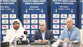 QTTA, Aspire host 8th ITTF Hopes programme
