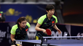 Chen Meng and Wang Manyu upset top seeds to secure top prize