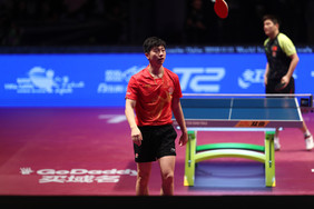 Ma retains men's singles title after beating Fan in thrilling final South Korean duo clinch men's do
