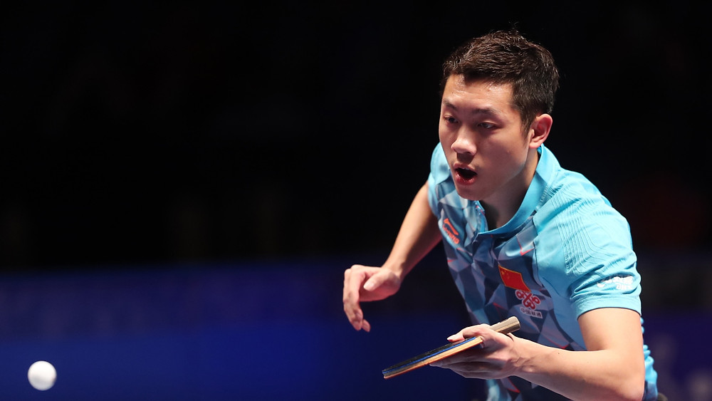 Xu Xin (pictured) set to take on Fang Bo for a place in the quarter-finals (Photo: QTTA)