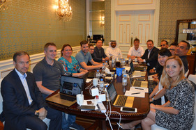 ITTF Senior Staff Management Meeting held in Qatar