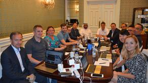 ITTF Senior Staff Management Meeting held in Qatar