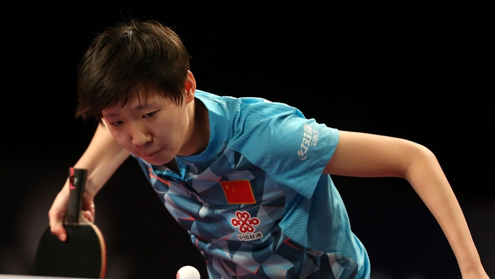 Wang Manyu (pictured) will face Chen Meng in the Women's Singles final (Photo: Hussein Sayed)