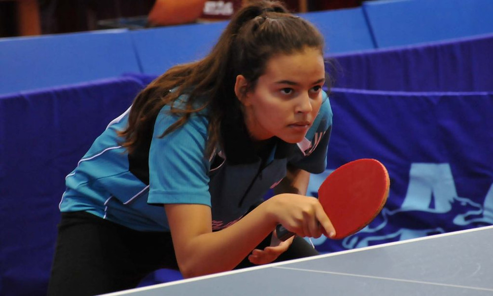 Marian Alhodaby was in fine form for Egypt in the Junior Girls' Team event (Photo: Hashem Kacentini)