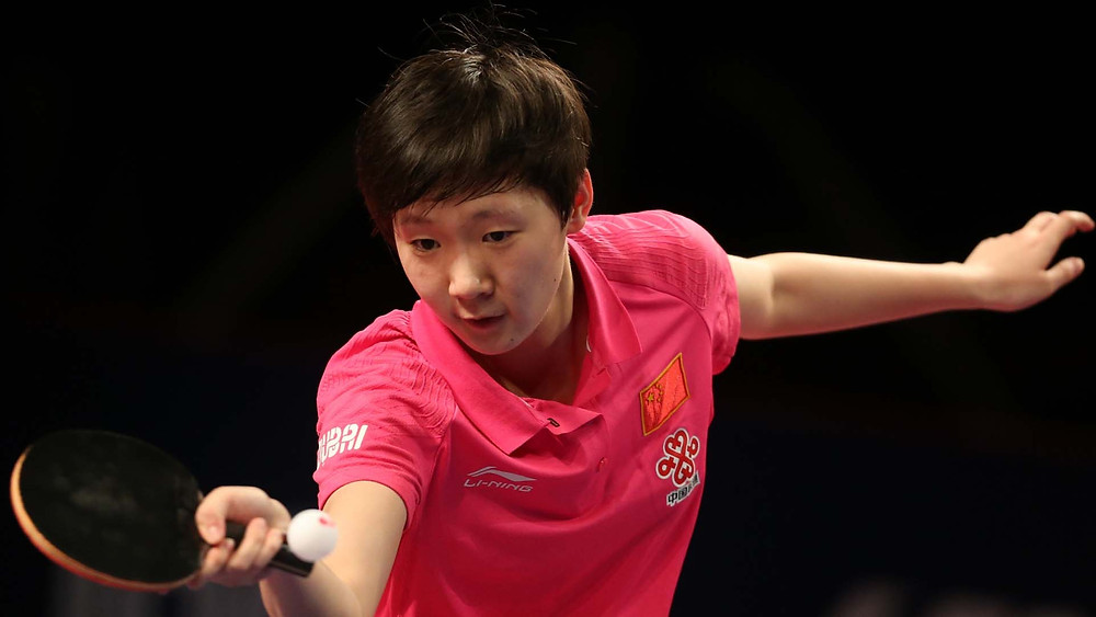 Wang Manyu ended the hopes of Mima Ito (Photo: Hussein Sayed)