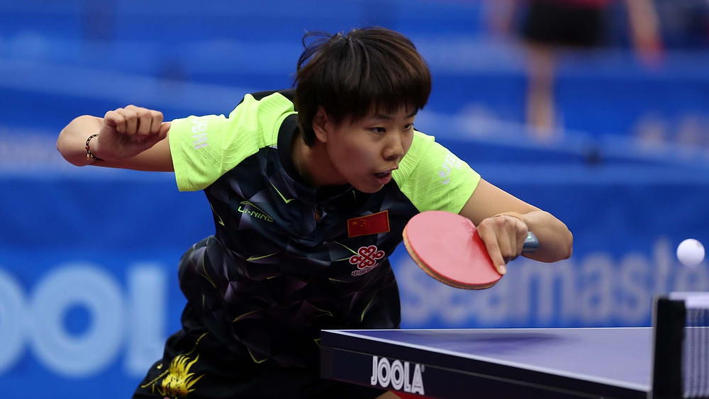 Gu Yuting pleased to be back on international scene (Photo: Hussein Sayed)