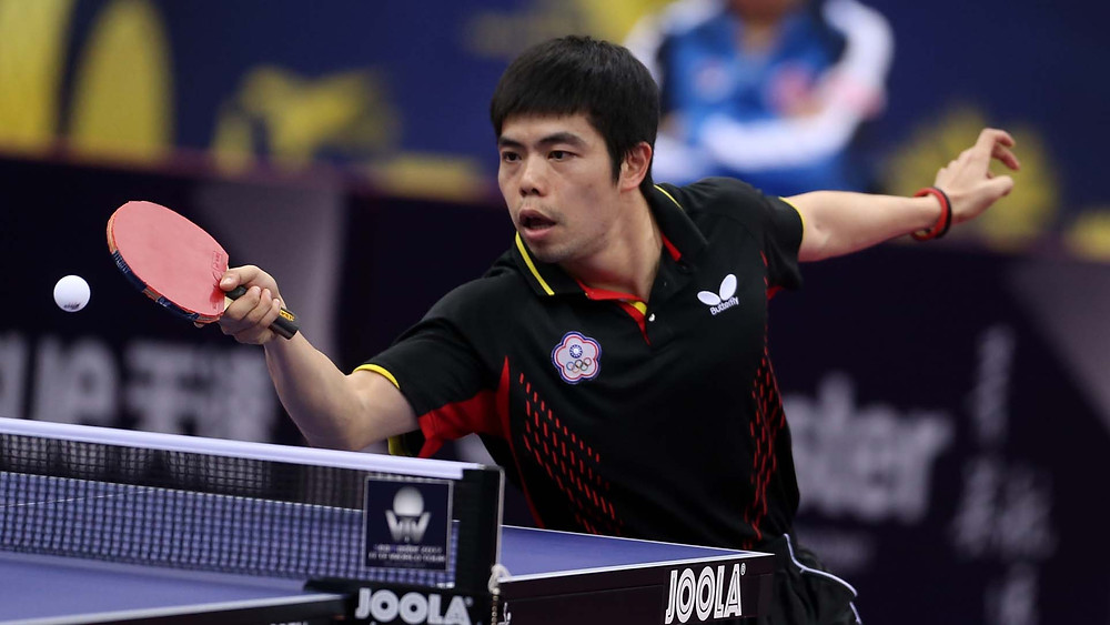 Chuang Chih-Yuan experience counted in his second round Men's Singles contest (Photo: Hussein Sayed)