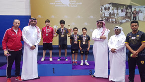 ختام ناجح لبطولة قطر لفردي وزوجي الاشبال والكواري يتوج باللقب