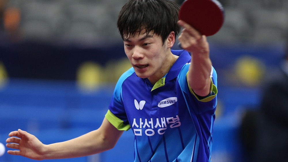 Cho Seungmin set to compete for spot in Under 21 Men's Singles final (Photo: Hussein Sayed)