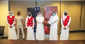 المهندي يكرم متطوعي الهلال الأحمر القطري