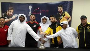 اليوم ختام منافسات أغلى كؤوس الطاولة بين قطر والريان تحدي مثير على لقب كأس الأمير  صالة عبد الله
