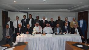 Khalil Bin Ahmed Al Mohannadi elected the president of Arab Table Tennis Union
