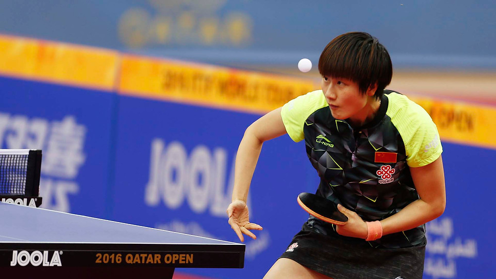 One year ago Ding Ning was the Women's Singles runner up in Doha; this year she will not be present (Photo: Hussein Sayed)