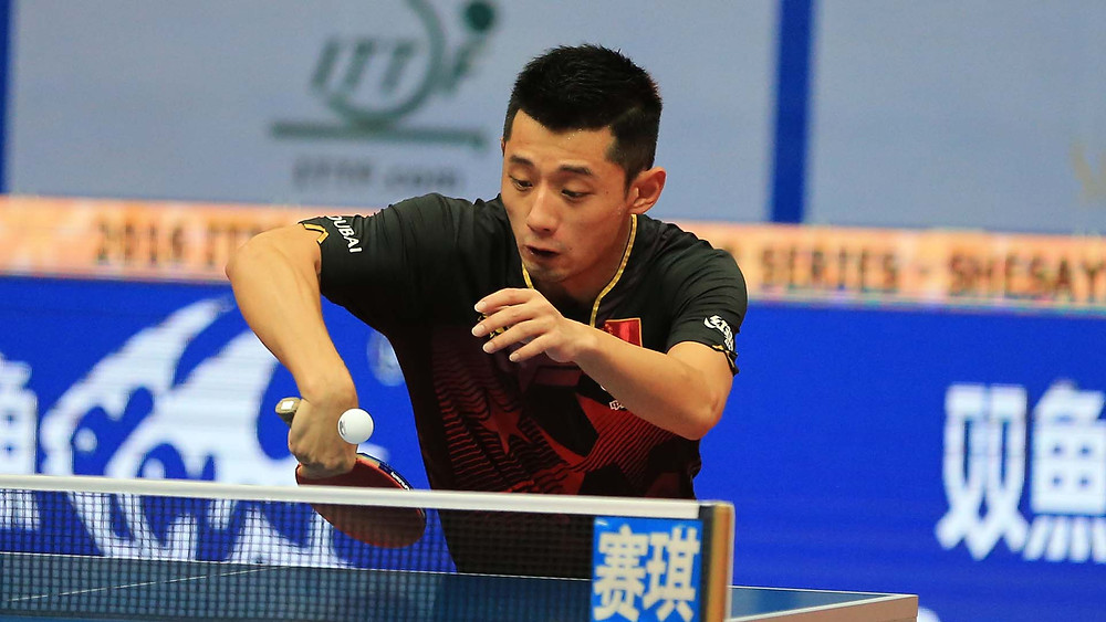 The most recent international appearance for Zhang Jike was last September at the SheSays 2016 ITTF World Tour China Open (Photo: Deng Xiaozhao)