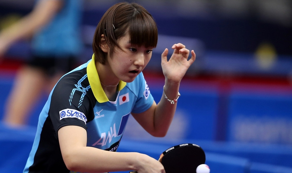 Could Miyu Kato produce an upset against Mima Ito in Doha? (Photo: Hussein Sayed)