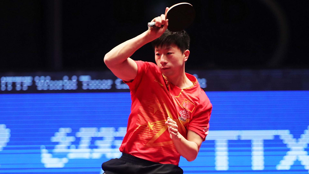 Ma Long once again the winner (Photo: QTTA)