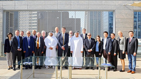 ITTF Executive Committee Meets in Dubai