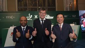 خليل المهندي حضر توقيع عقود الرعاية الجديدة في سنغافورة امس  نقلة نوعية تاريخية لكرة الطاولة العالمي