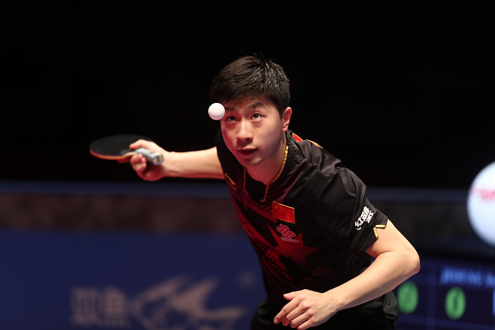 Ma Long is eyeing his fifth World Tour Grand Finals title in Doha. Photo By: QTTA