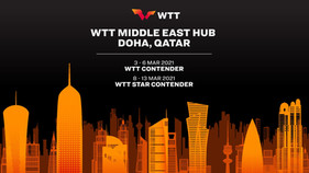 Doha to host WTT Middle East Hub in March, 2021