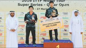 China reign supreme at Qatar TT Open