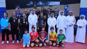 عائلة البطل الراحل شاركوا في توزيع الجوائز علي الفائزين