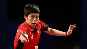 Totally focused, Fan Zhendong and Chuang Chih-Yuan advance to last four