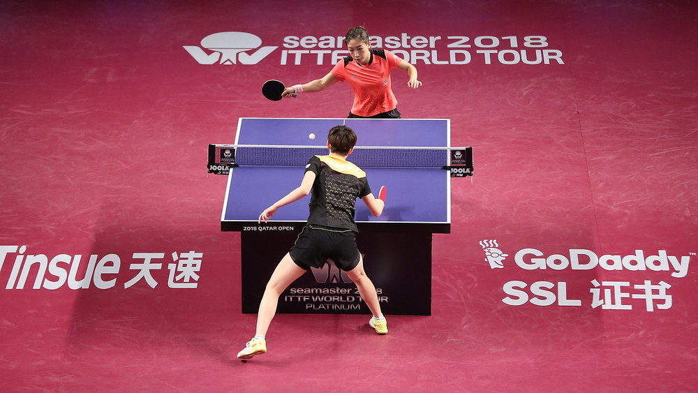 Success for China, Liu Shiwen and Wang Manyu secure top two positions in Women's Singles event (Photo: Hussein Sayed)